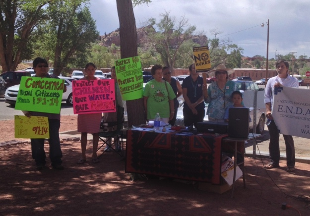 july 22-Concerned Diné Citizens Photo Credit-Tahirah Cook